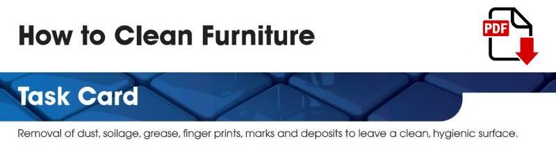 How to clean furniture - Jangro