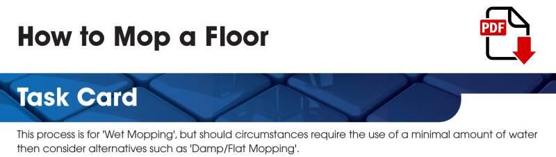 How to mop a floor - Jangro